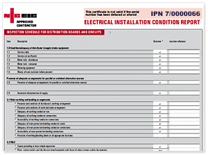Electrical Condition Reports Landlords And Homeowners