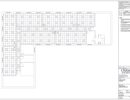 Electrical Alterations and Additions for new class room layout for Oxford College